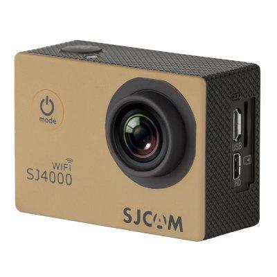 Экшн камера SJCAM SJ4000 WiFi золотистый (SJ4000WIFIGOLD) карты памяти