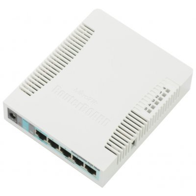 Маршрутизатор MikroTik RB951G-2HnD (RB951G-2HnD) беспроводной маршрутизатор mikrotik rb951g 2hnd 802 11n 300мбит с 2 4ггц 5xlan usb