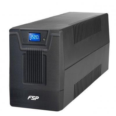 Источник бесперебойного питания FSP DPV 2000 2000VA/1200W LCD Display, USB (4 EURO) (PPF12A1301) цена и фото