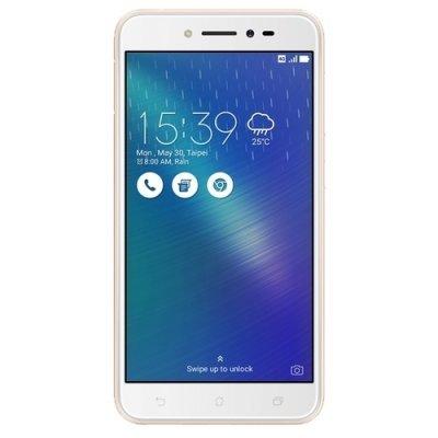 Смартфон ASUS Zenfone Live ZB501KL 16Gb золотистый (90AK0072-M00110) asus zenfone zoom zx551ml 128gb 2016 black
