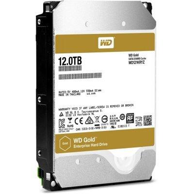 Жесткий диск ПК Western Digital GOLD 12ТБ WD121KRYZ (WD121KRYZ) жесткий диск пк western digital wds250g2b0a 250gb wds250g2b0a