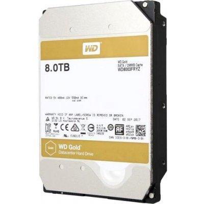 Жесткий диск ПК Western Digital GOLD 8ТБ WD8003FRYZ (WD8003FRYZ), арт: 275914 -  Жесткие диски ПК Western Digital