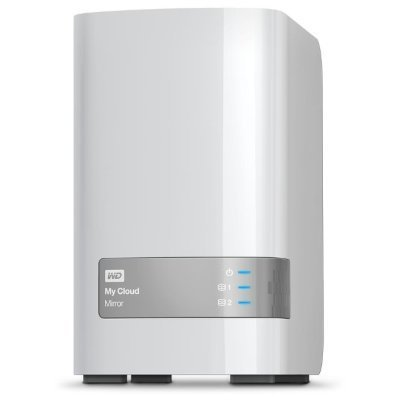Сетевой накопитель NAS Western Digital My Cloud Mirror WDBWVZ0060JWT-RESN 6ТБ 3,5