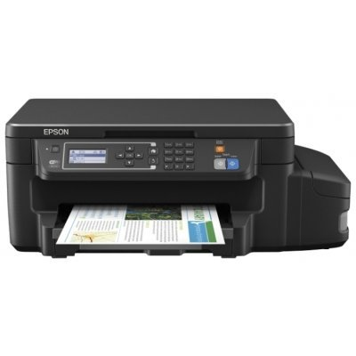 Цветной струйный МФУ Epson L605 (C11CF72403) струйный принтер epson l312 c11ce57403