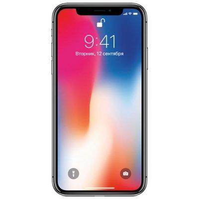 Смартфон Apple iPhone X 256GB (MQAF2RU/A) Space Grey (Серый космос) (MQAF2RU/A)