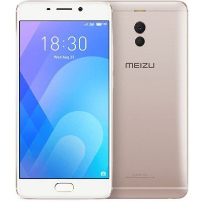 Смартфон Meizu M6 NOTE M721H 4/64GB Gold (Золотой) (M721H-64-G) аксессуар чехол meizu mx5 armor air slim gold gb f meimx5 gold