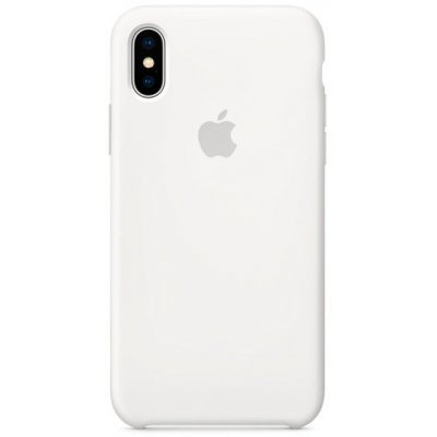 Чехол для смартфона Apple для iPhone X MQT22ZM/A белый (MQT22ZM/A) apple чехол клип кейс apple для apple iphone 6s plus mm692zm a светло зеленый