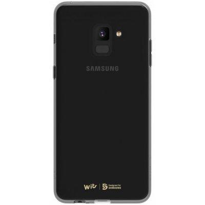 Чехол для смартфона Samsung для Galaxy A8+ черный (GP-A730WSCPAAC) (GP-A730WSCPAAC) чехол клип кейс samsung protective standing cover great для samsung galaxy note 8 темно синий [ef rn950cnegru]
