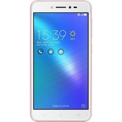 Смартфон ASUS Zenfone 3 Go ZB501KL 16Gb розовый (90AK0073-M00130) смартфон asus zenfone go zb500kl 16gb silver