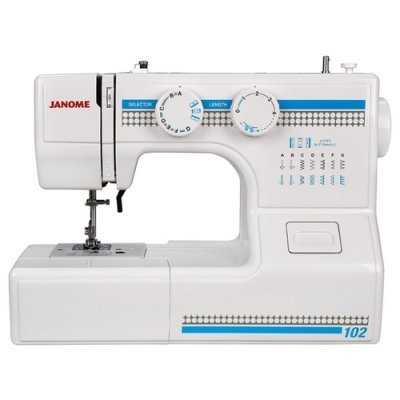Швейная машина Janome 102 белый (102) швейная машина janome sew dream 510 белый