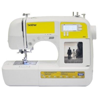 Швейная машина Brother MS-60 белый/желтый (MS60) швейная машина brother ms 40 цена