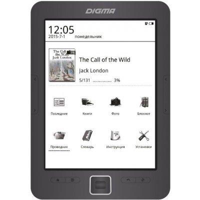 Электронная книга Digma E635 серый (E635)