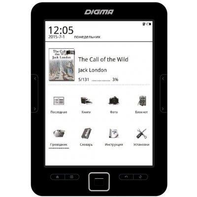 Электронная книга Digma R634 черный (R634)