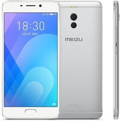 Смартфон Meizu M6 NOTE 32GB серебристый (M721H-32-S) сотовый телефон meizu m3 note 32gb silver white