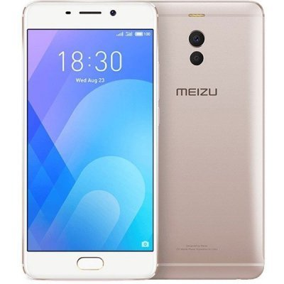 Смартфон Meizu M6 NOTE M721H 3/32GB Gold (Золотой) (M721H-32-G) аксессуар чехол meizu mx5 armor air slim gold gb f meimx5 gold