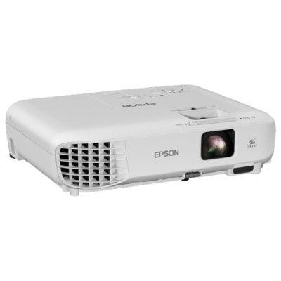 Проектор Epson EB-W05 белый (V11H840040) проектор epson eb s6 пульт