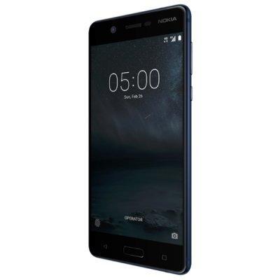 Смартфон Nokia 5 черный (Nokia 5 DS TA-1053 BLACK Смартфон) nokia 3310 ta 1030 желтый смартфон