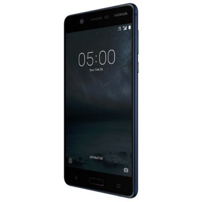 Смартфон Nokia 5 Dual Sim TA-1053 16Gb Black (Черный) (11ND1B01A20) смартфон nokia 8 dual sim polished blue