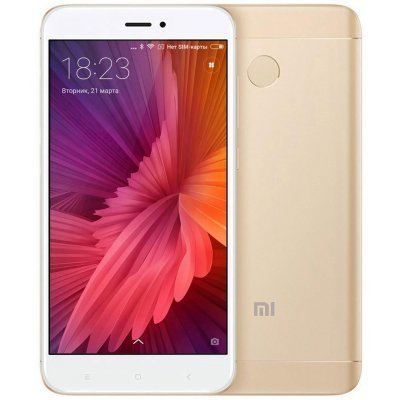 Смартфон Xiaomi Redmi 4X 32Gb золотистый (REDMI4X32GBGD), арт: 276675 -  Смартфоны Xiaomi