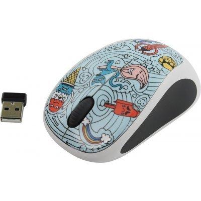 все цены на Мышь Logitech M238 Doodle Collection BAE-BEE BLUE (910-005055)