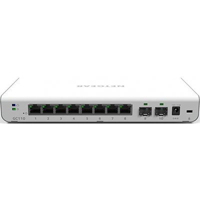 Коммутатор Netgear GC110-100PES (GC110-100PES) точка доступа netgear wnap320 100pes 802 11n 300mbps 2 4ггц 20dbm gblan