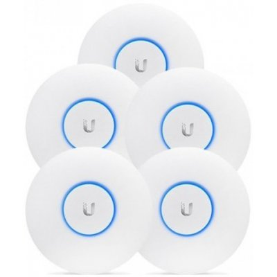 Wi-Fi точка доступа Ubiquiti UAP-AC-PRO-5 10/100/1000BASE-TX белый (упак.:5шт) (UAP-AC-PRO-5), арт: 276823 -  Wi-Fi точки доступа Ubiquiti