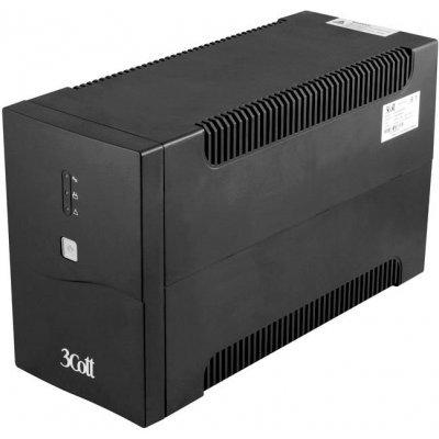 Источник бесперебойного питания 3Cott -1500-HML Home Line 1500VA/900W (3Cott-1500-HML) цена и фото