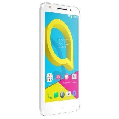 Смартфон Alcatel U5 (5044D) белый (5044D-2BALRU1) смартфон alcatel u5 5044d 8гб синий