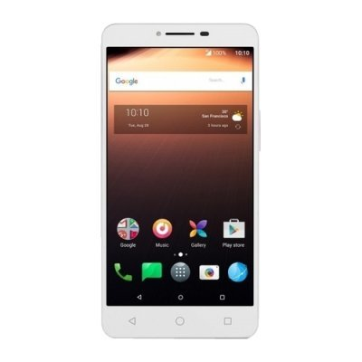Смартфон Alcatel A3 XL 9008D 8Gb White+Blue (Белый/Голубой) (9008D-2CALRU1) смартфон highscreen fest xl pro blue