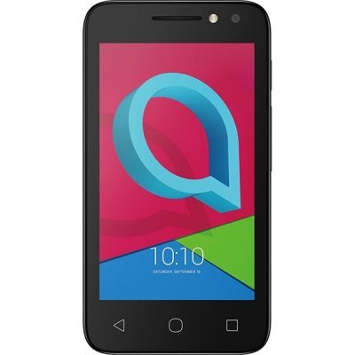 Смартфон Alcatel U3 3G 4049D Volcano Black (4049D-2AALRU1) мобильный телефон alcatel ot1016d 2sim volcano black