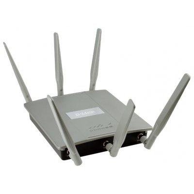 Wi-Fi точка доступа D-Link DAP-2695 двухдиапазонная AC1750 с поддержкой PoE (DAP-2695/A1A) d link dap 1513 a1a
