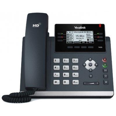 где купить VoIP-телефон Yealink SIP-T42S 12 SIP-аккаунтов (SIP-T42S) дешево