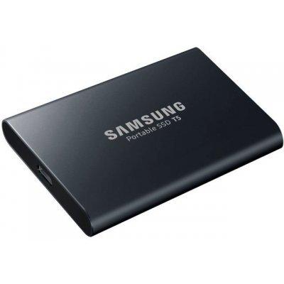 Накопитель SSD Samsung 2TB T5 MU-PA2T0B/WW (MU-PA2T0B/WW) портативный накопитель samsung ssd t5 mu pa250b 250 гб