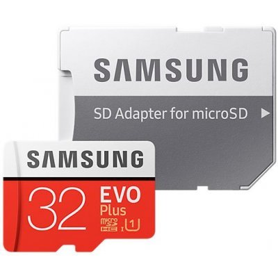 Карта памяти Samsung MicroSDHC 32GB EVO Plus v2 UHS-I U1 + SD Adapter ( (MB-MC32GA/RU) (MB-MC32GA/RU) карта памяти other samsung evo 10 32 64 sd sdhc oem