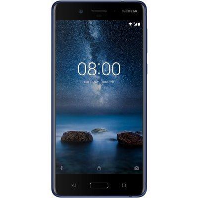 Смартфон Nokia 8 Dual Sim TA-1004 4/64Gb Tempered Blue (Матовый индиго) (11NB1L01A17) смартфон nokia 8 dual sim polished blue