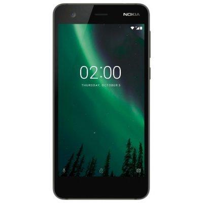 Смартфон Nokia 2 Dual Sim TA-1029 8Gb Black (Черный) (11E1MB01A03) смартфон nokia 8 dual sim polished blue