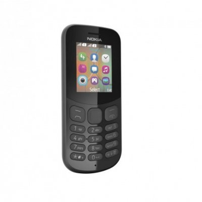 все цены на Мобильный телефон Nokia 130 Dual Sim (2017) черный (A00028615) онлайн