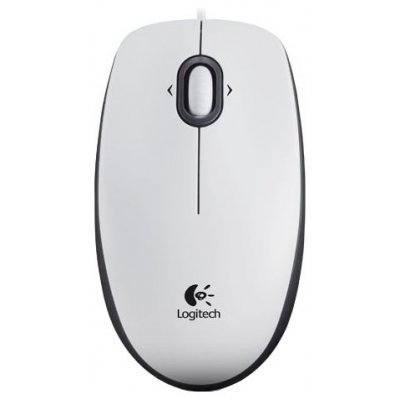 Мышь Logitech Mouse M100 White USB NEW 910-005004 (910-005004)