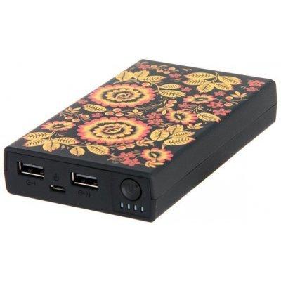 Внешний аккумулятор для портативных устройств HIPER RP11000 Черный 11000мАч хохлома (RP11000XOXLOMA) внешний аккумулятор elari powercard черный