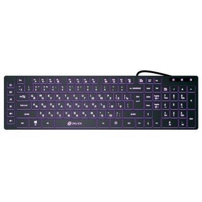 Клавиатура OKLICK 560ML черный (560ML) клавиатура oklick 570m black usb slim multimedia