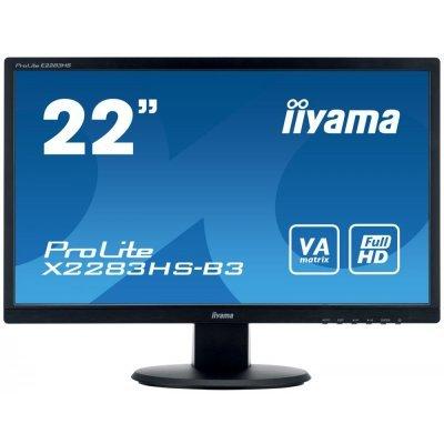 Монитор IIYAMA 21.5 X2283HS-B3 (X2283HS-B3)