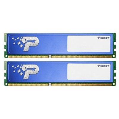 Модуль оперативной памяти ПК Patriot Память PSD48G2133KH DDR4 2x4Gb (PSD48G2133KH) память geil evo potenza 2x4gb ddr3 2133 gpb38gb2133c10adc