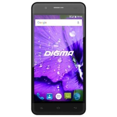 все цены на Смартфон Digma LINX A450 3G черный (DGS-A450BK-428985) онлайн