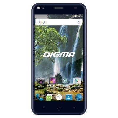 Смартфон Digma VOX E502 4G темно-синий (DGS-E502DB-495890)