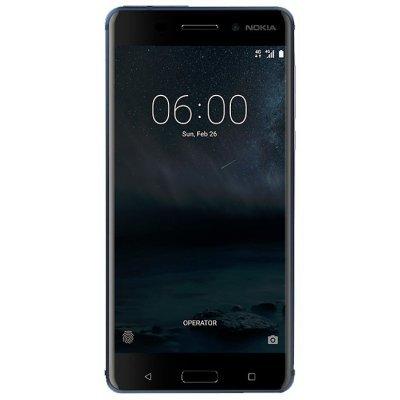 Смартфон Nokia 6 Dual Sim TA-1021 32Gb Blue (Синий) (11PLEL01A11) смартфон nokia 8 dual sim polished blue