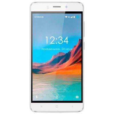 Смартфон Ginzzu S5220 белый (S5220W) смартфон ginzzu s5050 белый