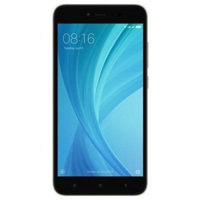 Смартфон Xiaomi Redmi Note 5A Prime 3/32Gb серый (REDMINOTE5APRGR32GB) смартфон asus zenfone live zb501kl золотистый 5 32 гб lte wi fi gps 3g 90ak0072 m00140