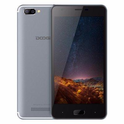 Смартфон Doogee X20L серебристый (Doogee X20L 16Gb 4G Silver Смартфон) смартфон lenovo vibe c2 power 16gb k10a40 black
