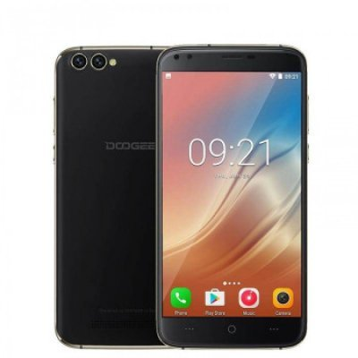 Смартфон Doogee X30 черный (Doogee X30 16Gb 3G Obsidian Black Смартфон) планшет digma plane 1601 3g ps1060mg black