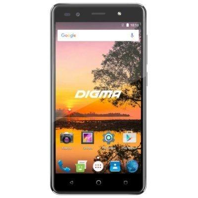 Смартфон Digma VOX S513 4G 16Gb черный (VS5035ML) смартфон digma linxa500